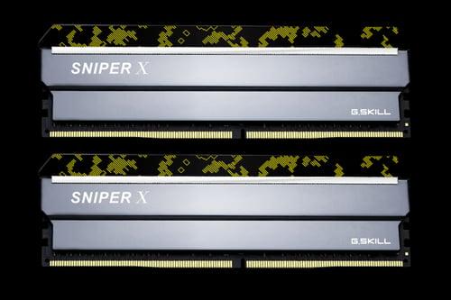Memory G.Skill SniperX DDR4 2x8GB 3200Mhz CL16 F4-3200C16D-16GSXKB