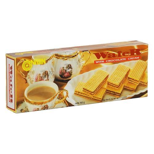 Wafer Chocolate Cream Shell 160 gr
