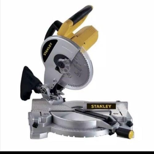 Mesin potong miter saw 1500W 254mm Mitre Saw STEL721 Stanley