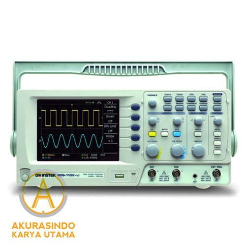 GW Instek GDS 1102 U - 100 Mhz 2 Channel Digital Oscilloscope