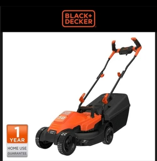 mesin potong rumput string trimmer black and dacker BEMW451BH lawnmower