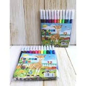 Spidol 12 warna 838 Colour Pen