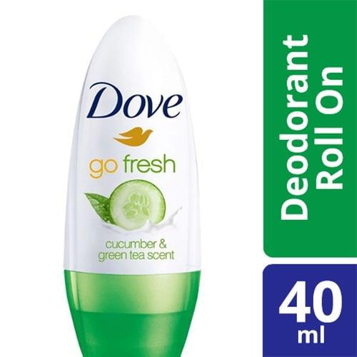 DOVE ROLL ON DEODORANT GO FRESH CUCUMBER & GREEN TEA 40ML