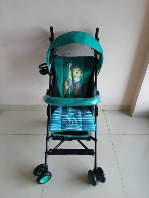 pliko stroller winner green, stroller baby