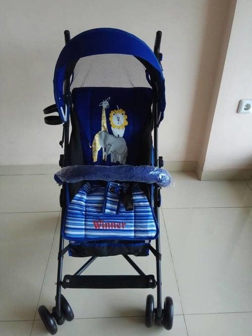 PLIKO Stroller Winner navy blue
