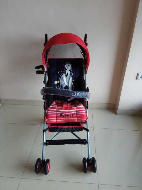 pliko stroller winner red blue