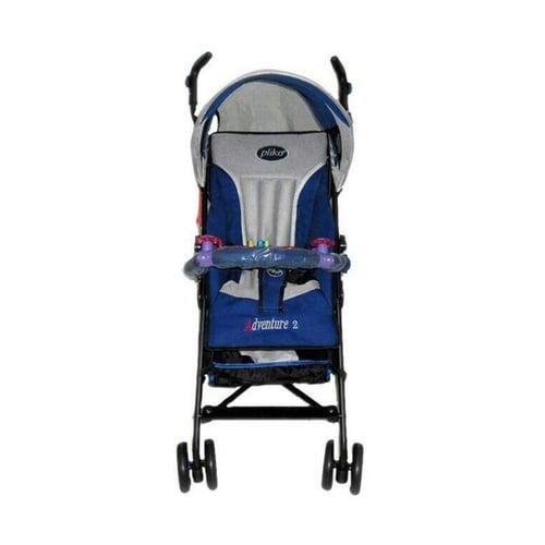 PLIKO Stroller Baby Adventure 108 Biru Tua