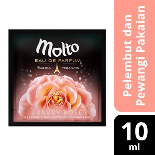 MOLTO PELEMBUT DAN PEWANGI PAKAIAN LUXURY ROSE POUCH 10 ML