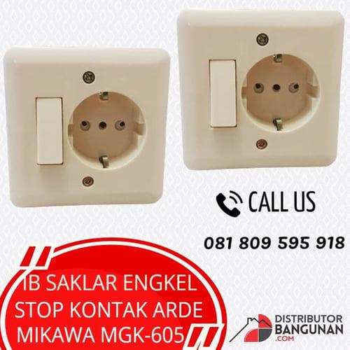 IB SAKLAR ENGKEL & STOP KONTAK MIKAWA MK-605