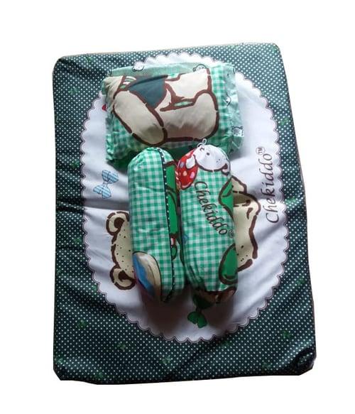 Chekiddo baby wear kasur bayi - Hijau