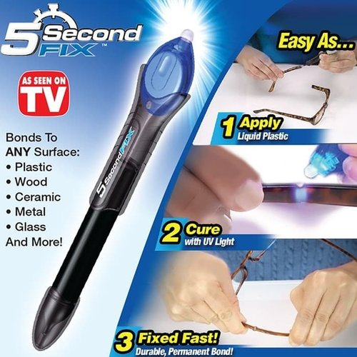5 Second Fix Lem Sinar UV Lem Perekat