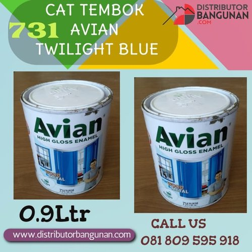CAT TEMBOK AVIAN TWILIGHT BLUE 731