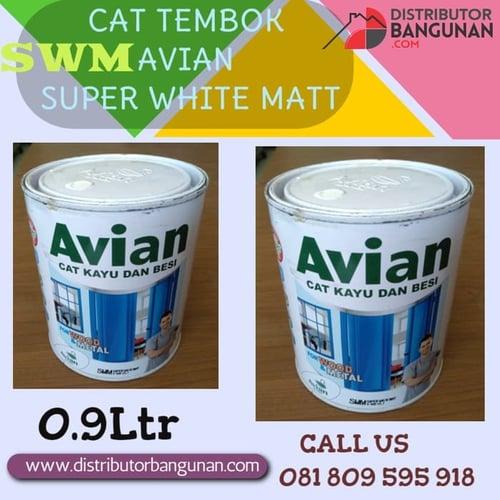 CAT TEMBOK AVIAN SUPER WHITE MATT