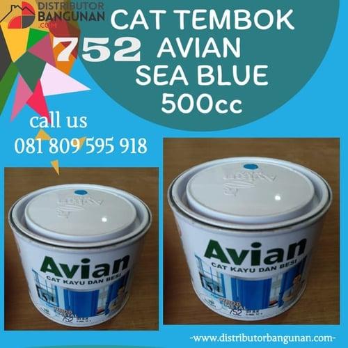 CAT TEMBOK AVIAN SEA BLUE 500CC 752