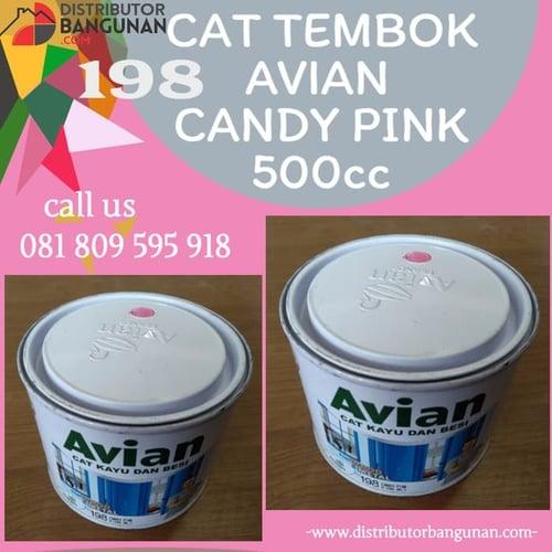CAT TEMBOK AVIAN CANDY PINK 500CC 198