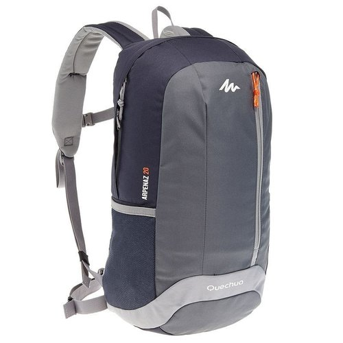 Tas Ransel Daypack Backpack Hiking Quechua Arpenaz 20 L Original by Decathlon - Grey Black