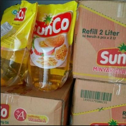 Sunco Minyak Goreng 6x2 Liter Per Karton