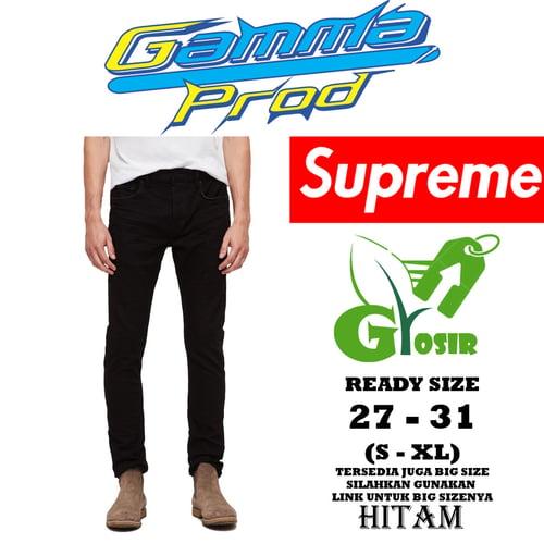 Celana Soft Jeans SUPREME SLIM FIT PRIA GROSIR