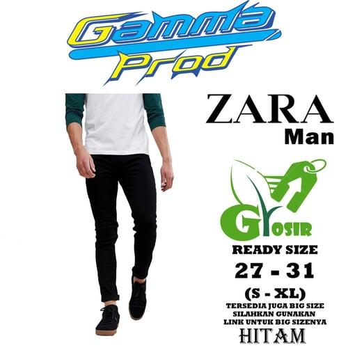 Celana Soft Jeans ZARA SLIM FIT PRIA GROSIR