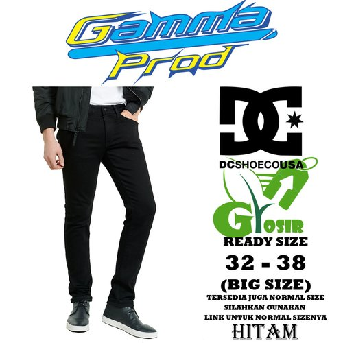 Celana Soft Jeans DC SLIM FIT PRIA GROSIR BIG SIZE