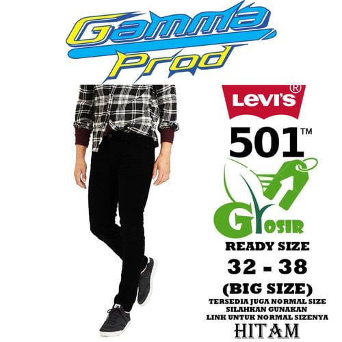 Celana Soft Jeans LEVIS 501 SLIM FIT PRIA GROSIR BIG SIZE