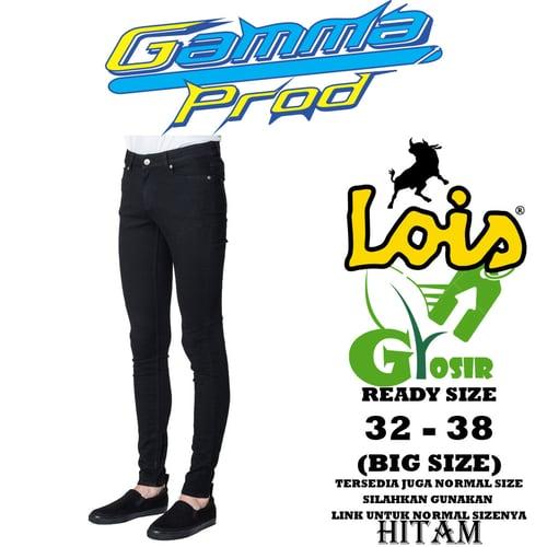 Celana Soft Jeans LOIS SLIM FIT PRIA GROSIR BIG SIZE