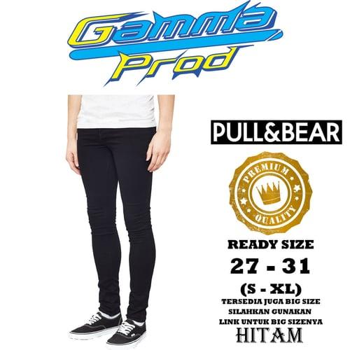 Celana Soft Jeans PULL&BEAR SLIM FIT PRIA PREMIUM Zipper YKK