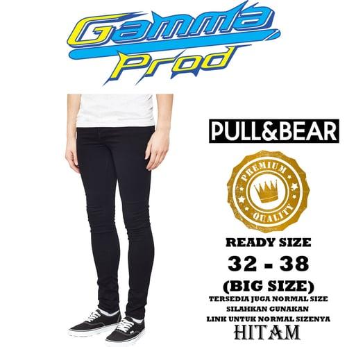 Celana Soft Jeans PULL&BEAR SLIM FIT PRIA PREMIUM Zipper YKK BIG SIZE