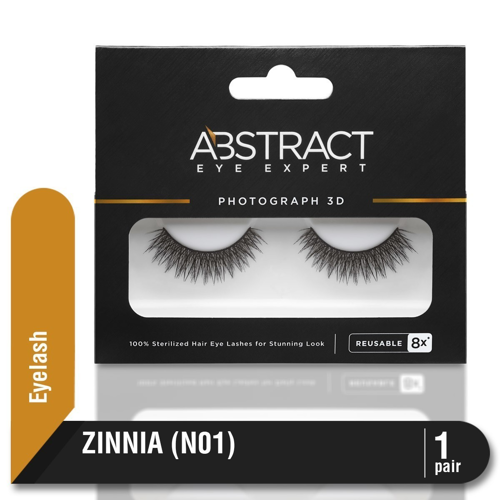 ABSTRACT EYELASH N01 ZINNIA  Bulu Mata Palsu