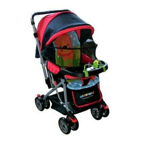 Creative Baby Stroller Bayi 218 Classic  - Red