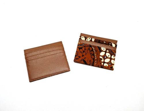 Dompet Kartu Batik Sogan Klasik Coklat