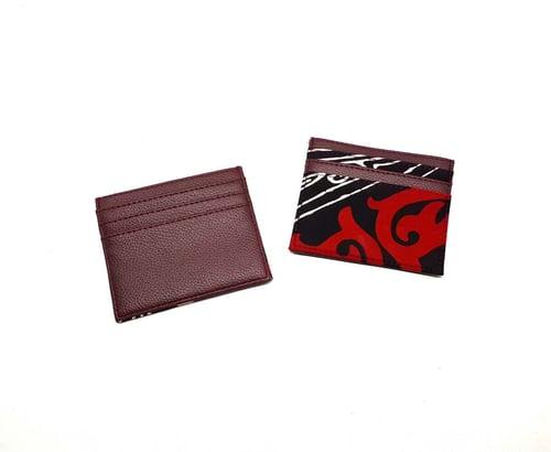 Dompet Kartu Motif Batik Batak