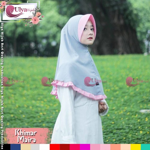 Ulya Hijab Premium Quality Jilbab Hijab Khimar Instan Maira Mad Wolfis