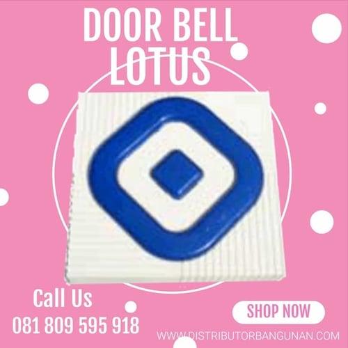 Door Bell Bel Pintu Rumah Wireless Tanpa Kabel Cable Suara Kencang