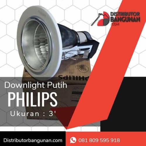 Downlight Putih Philps 3