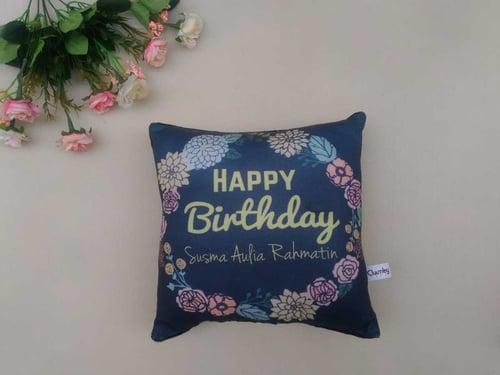 Bantal Custom - Hadiah Ulang Tahun - UK 29x29