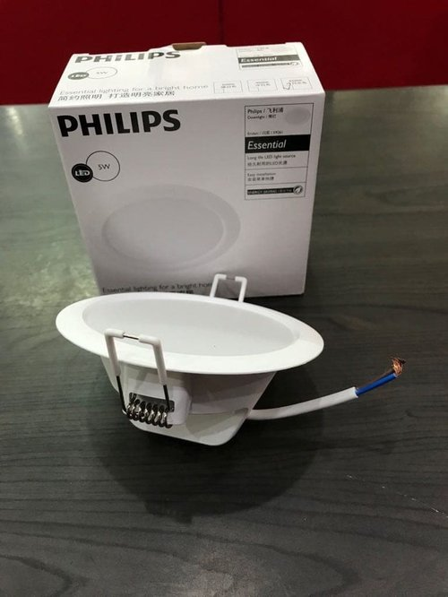 PHILIPS Eridani 100 5W 65K WH Recessed 59261 LED