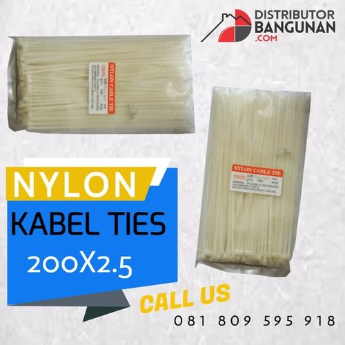 KABEL TISH / Ties / RIPET / RIFET 200 x 2.5 Nylon
