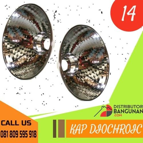 Kap Lampu DioHoric 14 Silver