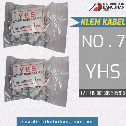 Paku Kleman Kabel Listrik NO 7 mm YHS