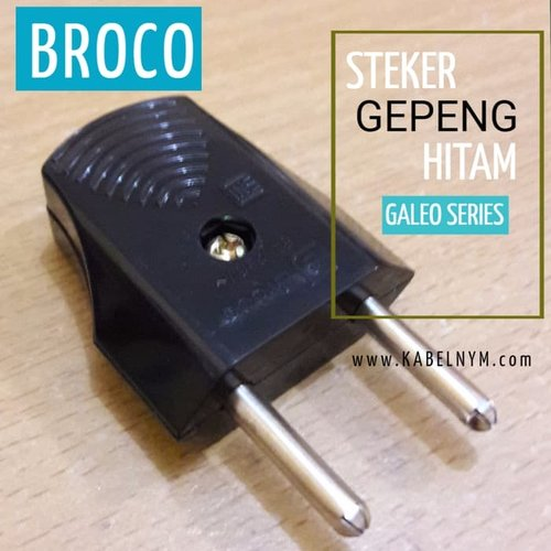 STEKER GEPENG HITAM BROCO - 1341055