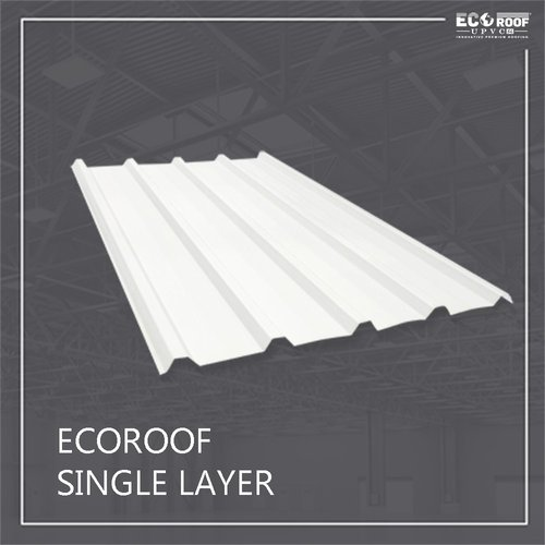 Atap Ecoroof UPVC Single Layer 5 Meter