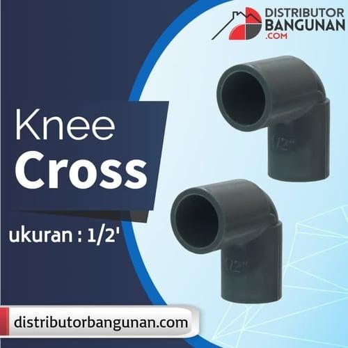 Knee 1/2' CROSS