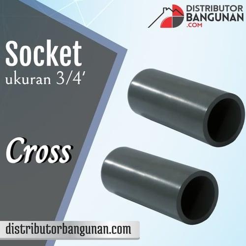 Socket 3/4' CROSS