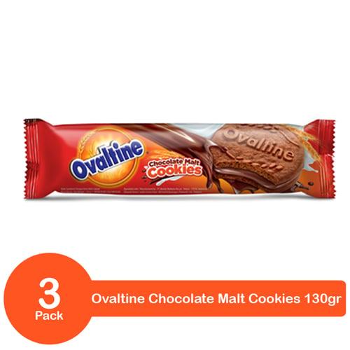 Ovaltine Chocomalt 130gr Bundling 3 Pack