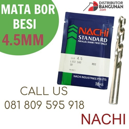 Mata Bor Besi 4,5 mm NACHI