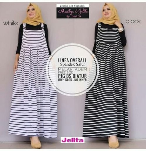 Dress Muslim Wanita SFS Linea Overall