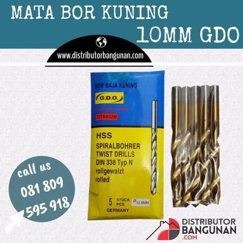 Mata Bor Kuning 10 mm