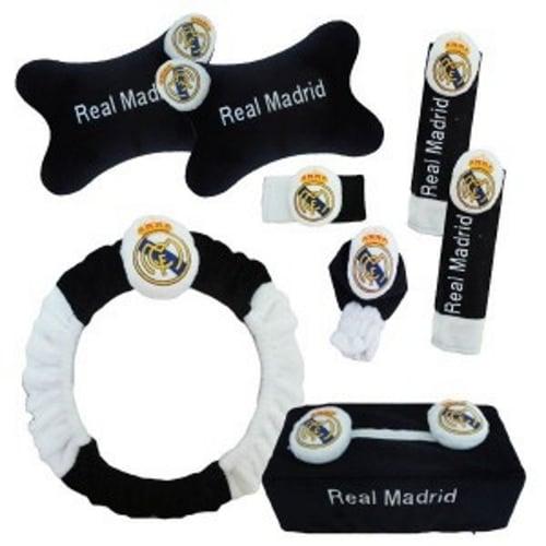 Bantal Mobil Premium 6 in 1 Club Real Madrid