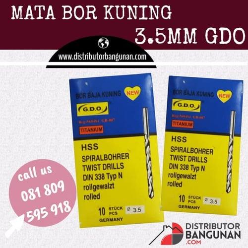 Mata Bor Kuning 3,5 mm GDO